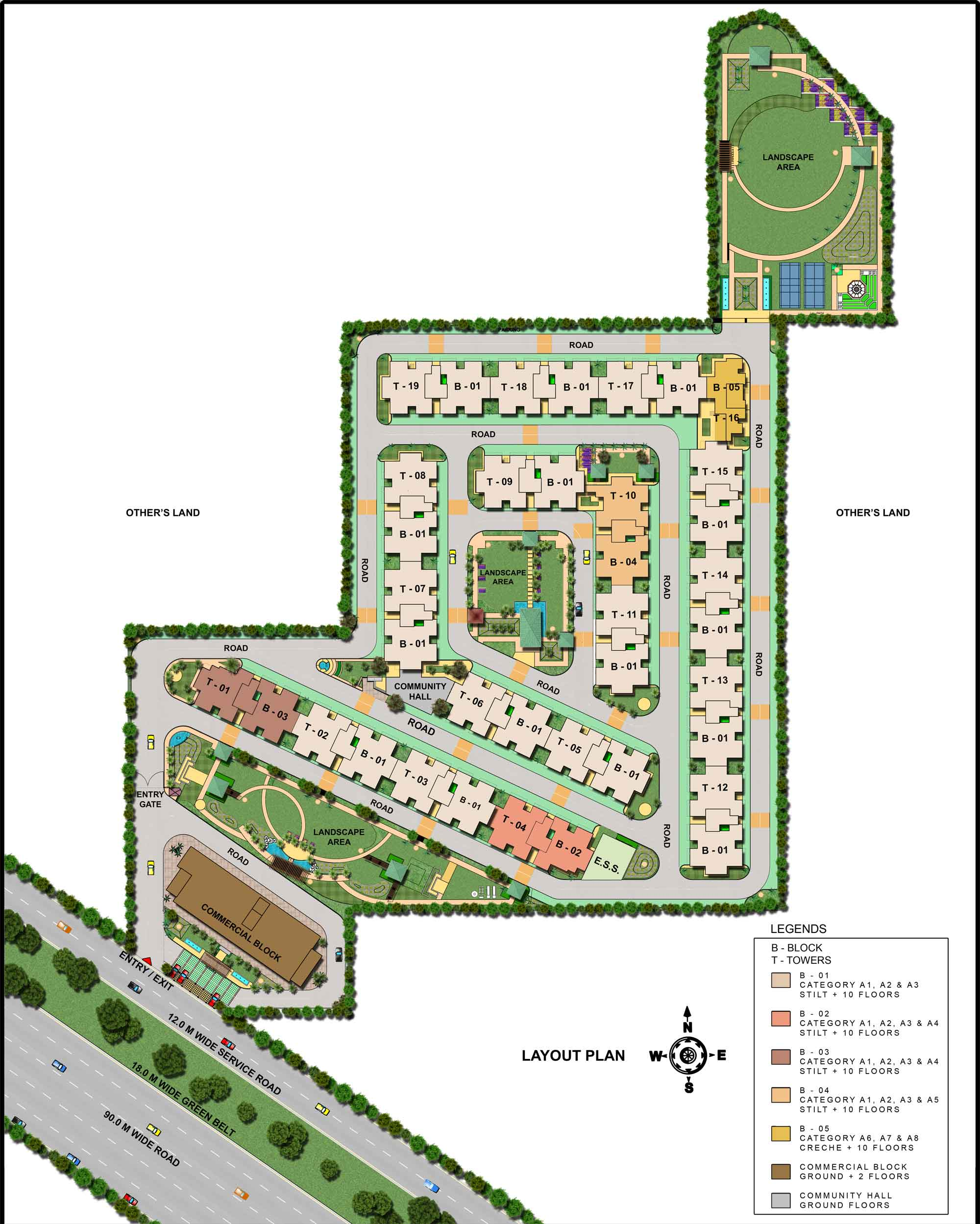 AVL-36A-Gurgaon-Site-Plan