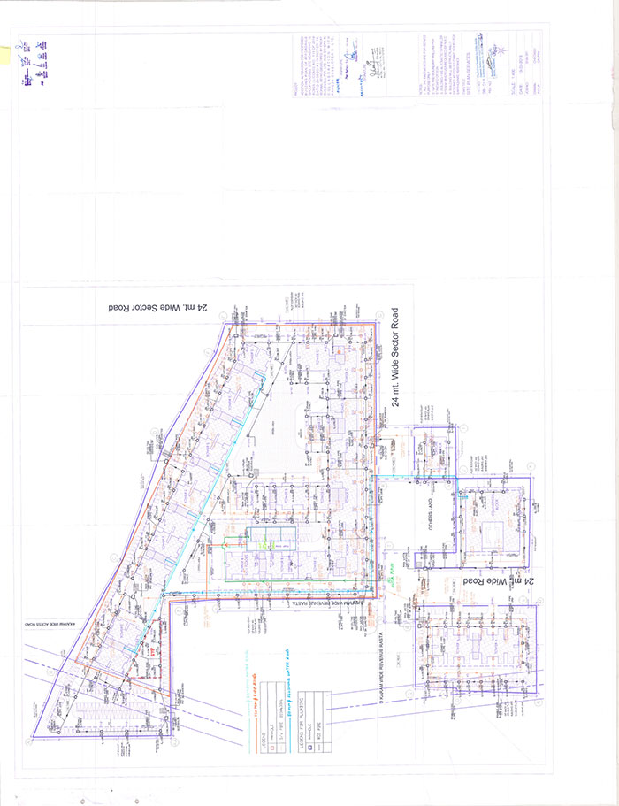 Raheja Krishna New Site Plan