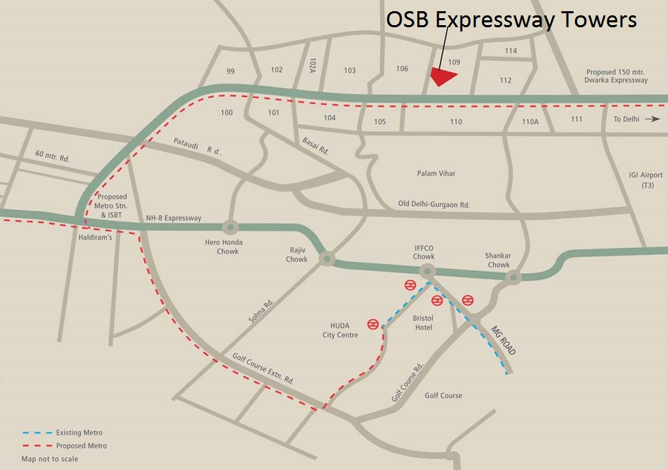 location-map- OSB Expressway tower