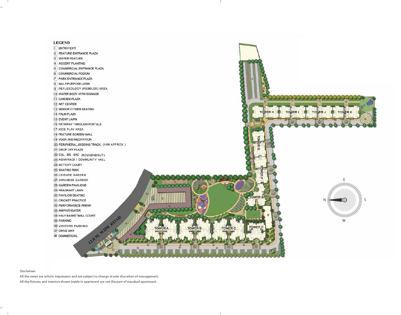 Pyramid Pride Sector 76 NH 8 Gurgaon Location Map