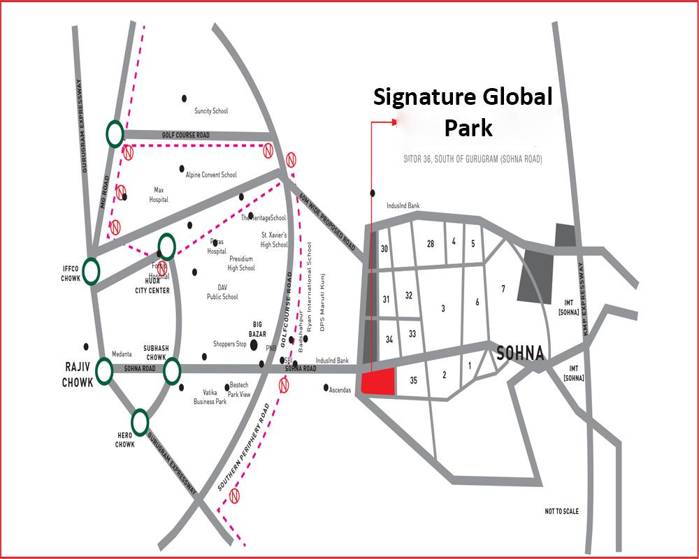 Signature Global Park Sector 36 Sohna Gurugram